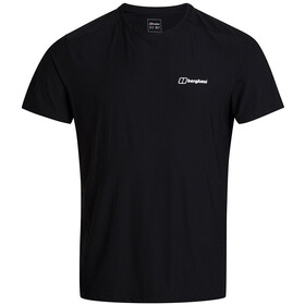 Berghaus 24/7 Tech Tee SS Crew Shirt Men, black/black
